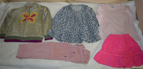 lote ropa 5 prendas niña talle 4