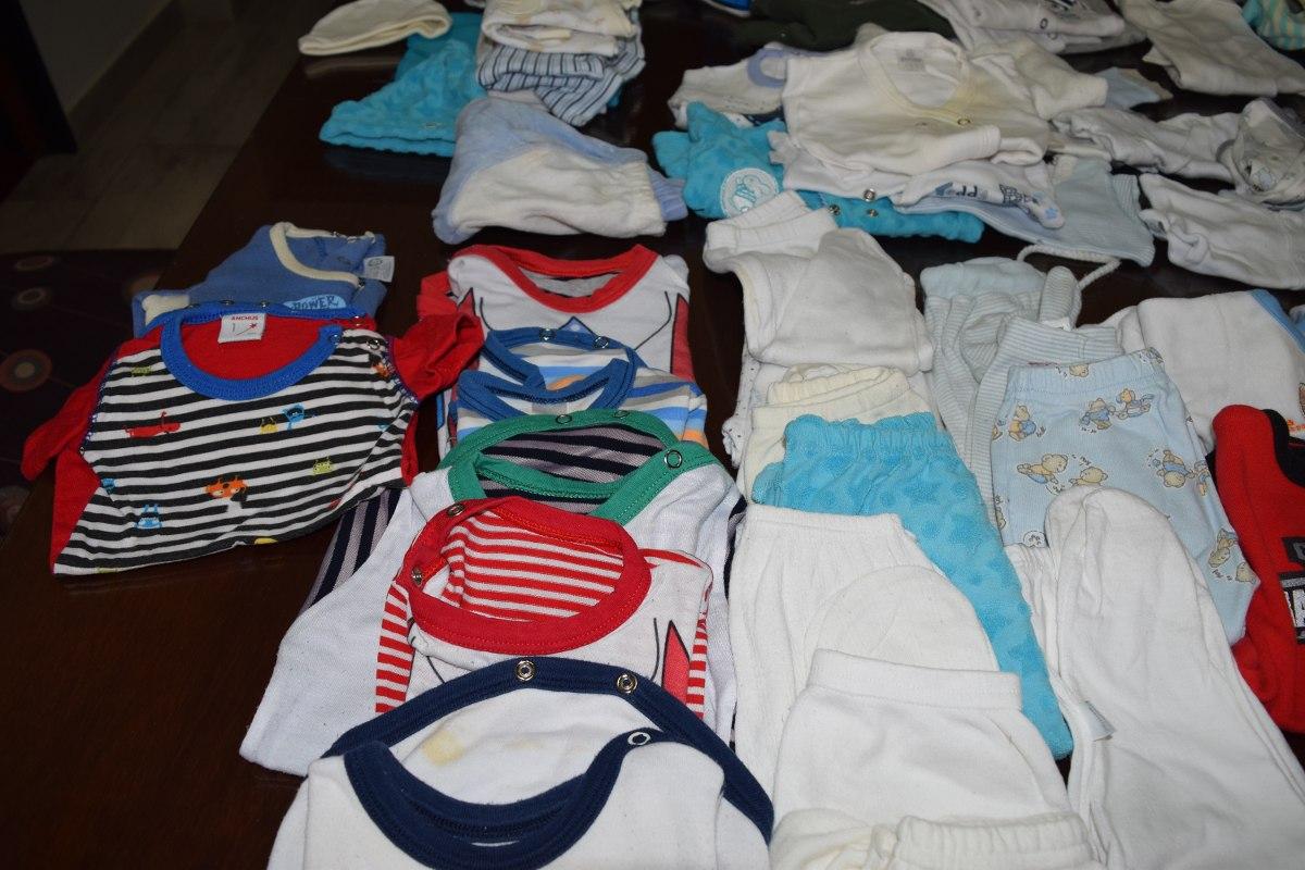 lote ropa bebe de 0 a 6 meses- varon- 60 prendas! Cargando zoom. 59bc88a2ff9