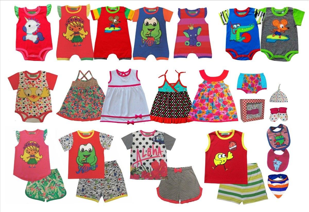 nueva estilos 71801 299ca Lote Ropa Bebés Y Niños Por Mayor Fabrica