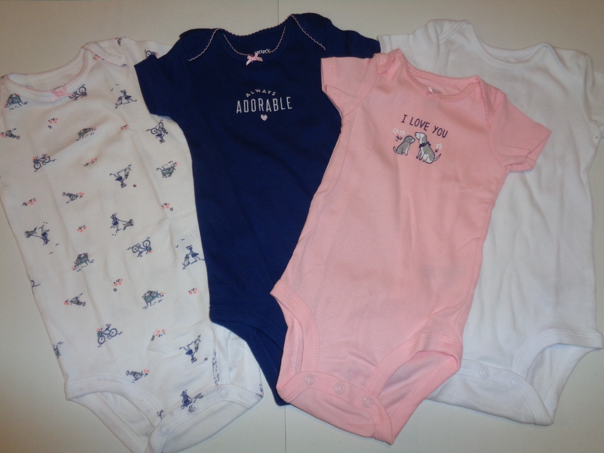 Cargando zoom... lote ropa importada 4 bodys bebe nena ... 5d7b0918a543