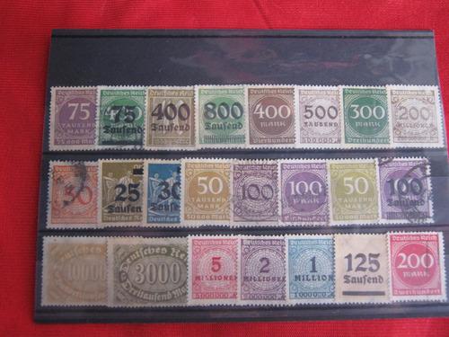 lote sellos alemania 03