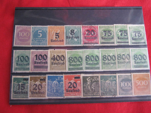 lote sellos alemania 04