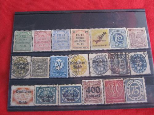 lote sellos imperio alemán 07