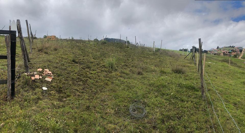 lote  sesquile con excelente vista  a la vía bogotá-tunja