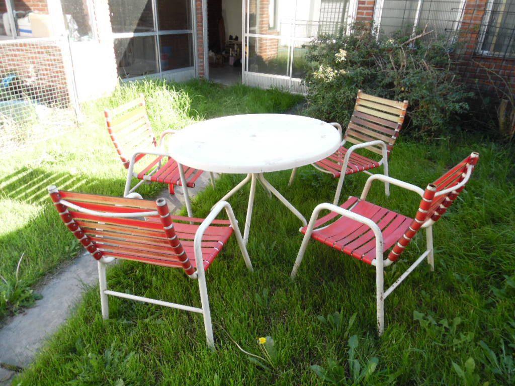 Lote Sillones Jardin Apilables X 4 Precio X Uno Zona Sur 49800 - Sillones-jardin