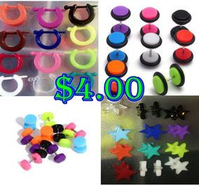 ea678a23882d Aretes Negros Para Hombre Como Boton - Joyas y Relojes en Mercado ...
