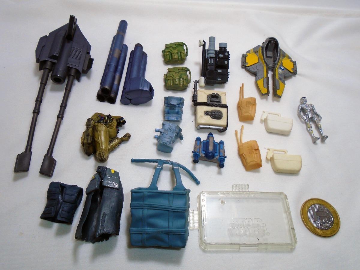 88fe9a9cf lote star wars peças armas acessórios loja de coleções. Carregando zoom.