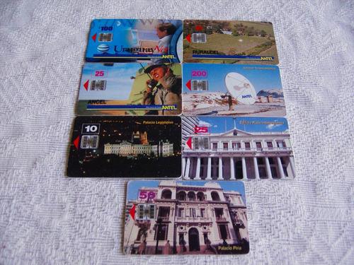lote tarjetas nacionales en buen estado...
