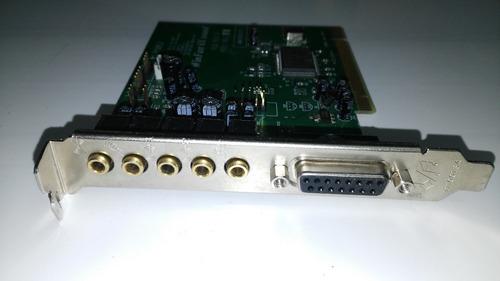 lote tarjetas pci fax modem, audio fibra optica