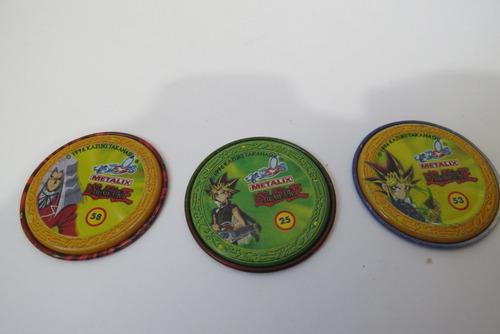 lote tazos bob esponja / yu gi oh / dragon ball