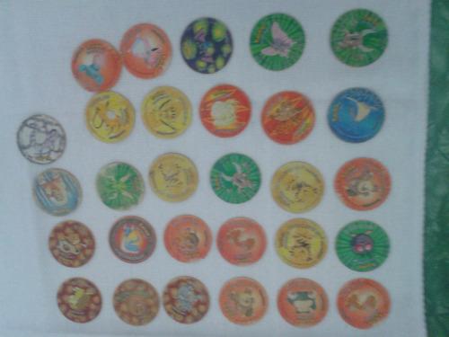 lote tazos pokemons