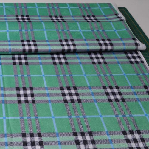 lote tecido veludo de malha 1,25m x 1,55m larg - xadrez