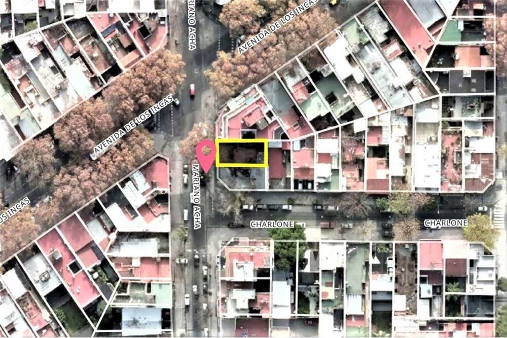 lote terreno 1270 m2 construibles villa ortuzar esquina altura alta * acepta metros