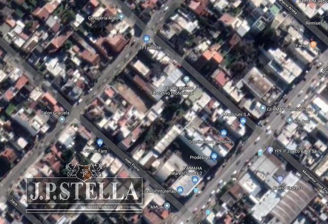 lote terreno 374,97 m² (8,66 x 43,30) - ideal desarrollo inmobiliario - s.justo (ctro)