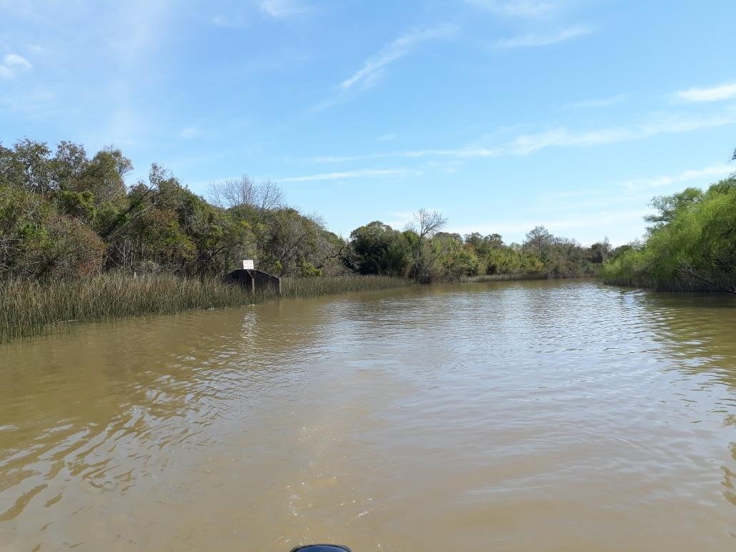 lote terreno delta de tigre sobre arroyo abra vieja