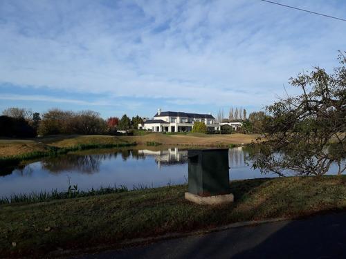 lote .terreno .en country buenos aires golf. financ. privada