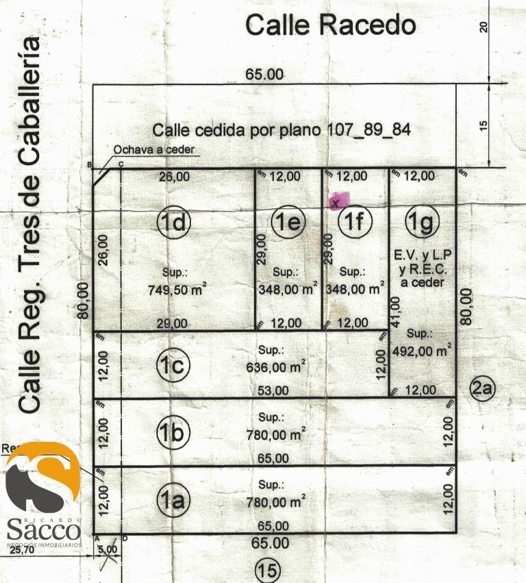 lote ubicado en sector sur de la ciudad de #trenquelauquen