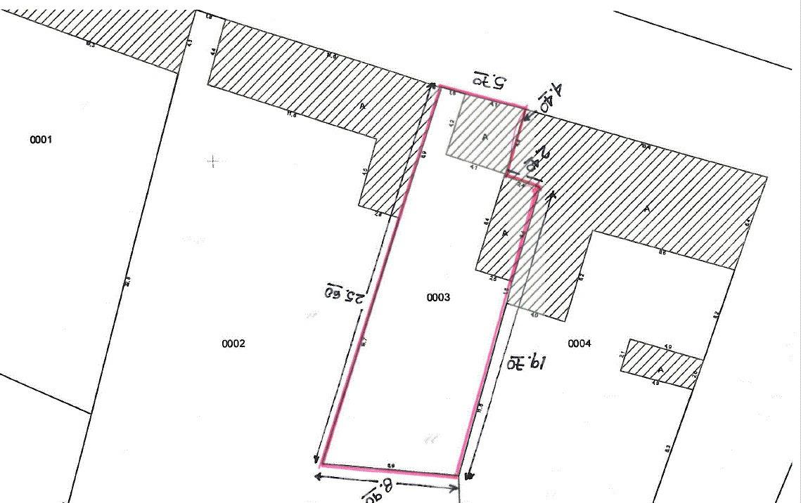 lote urbano 194 m2