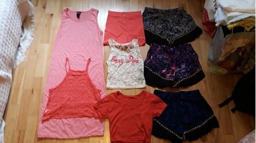 lote varias prendas vestidos musc mujer nuevo