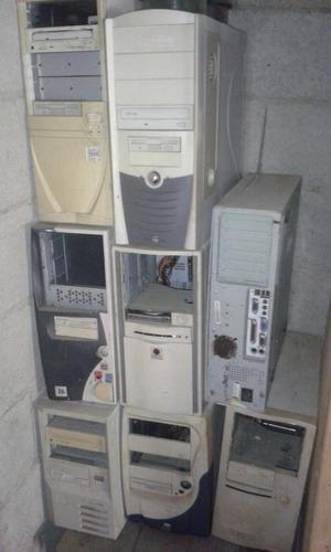 lote varios gabinetes vacíos