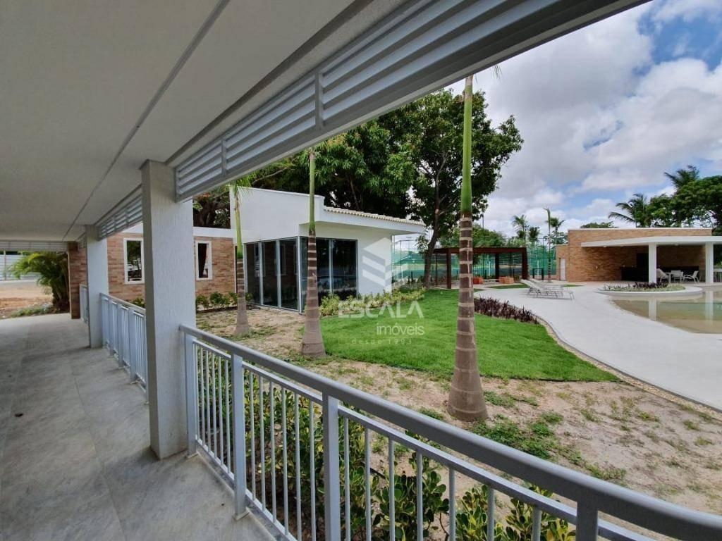 lote à venda, 498m², azzur condominio, financia - centro - eusébio/ce - te0258