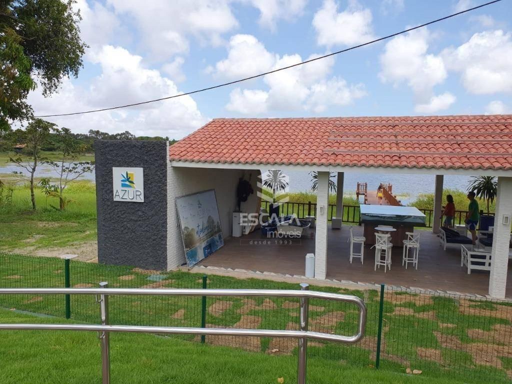 lote à venda, 754m², azzur condominio, financia - centro - eusébio/ce - te0259