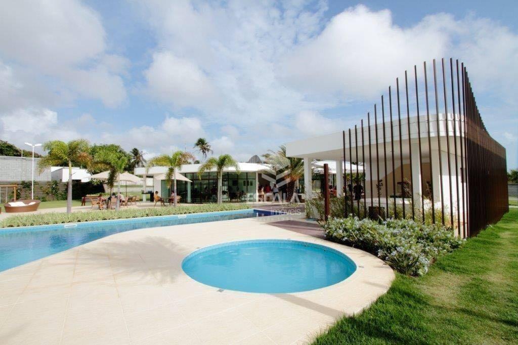 lote à venda jardins das dunas, 254 m², condomínio fechado, promoção - mangabeira - eusébio/ce - te0216