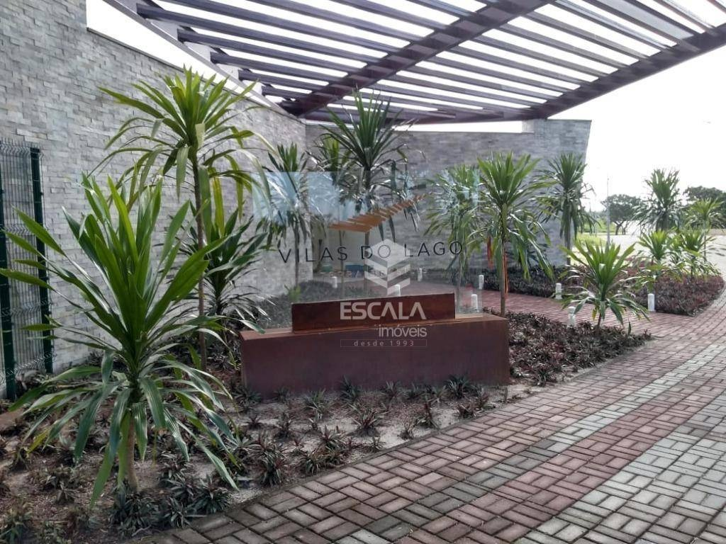 lote à venda no condomínio vilas do lago, 315 m², financia - lagoa redonda - fortaleza/ce - te0161