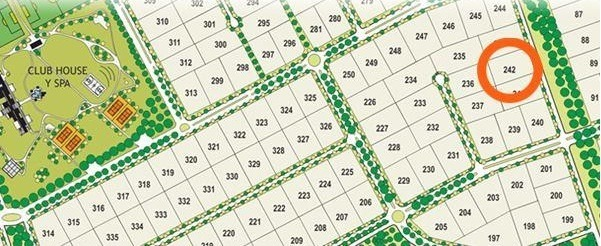 lote venta- 40 x 64 mts -2,560 mts 2-  campos de roca ii (ruta 2 km 65)