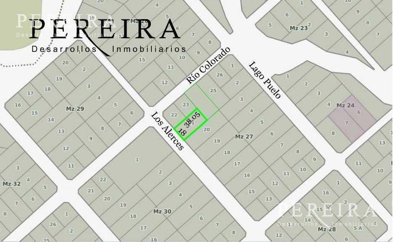 lote - venta - 685 m² - s/calle los alarces - ingeniero maschwitz