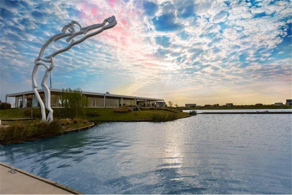 lote venta al lago,puertos del lago,escobar,barrio acacias,, nordelta 2, med.736 mts.  nor-oeste en el espejo de agua central de acacias