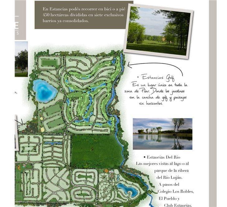 lote venta club estancias del pilar golf