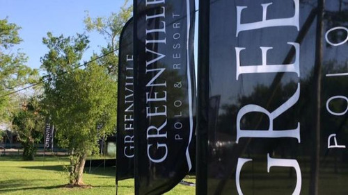 lote venta en  barrio greenville polo y resort-financiado
