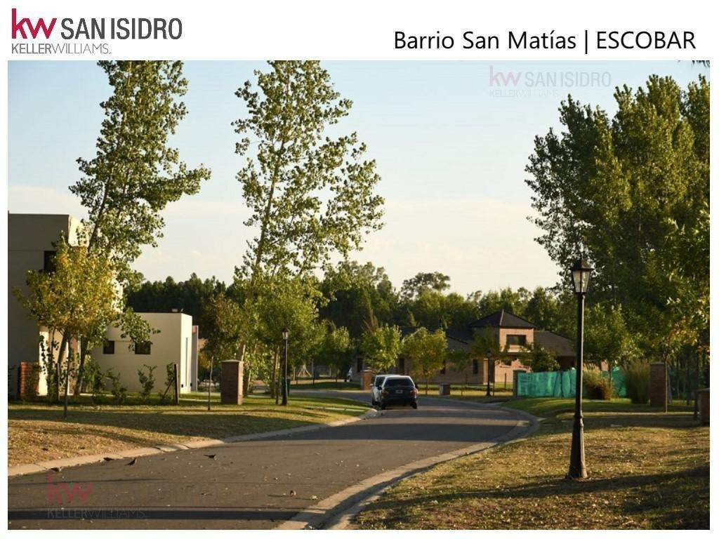lote | venta | perimetral | barrio san matías | maschwitz | escobar | zona norte | barrio náutico