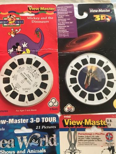 lote view master 3 d + 9 cartelas lacradas raridade