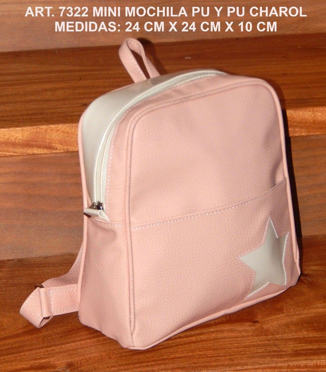 f091682e5 Lote X 10 Mochilas Simil Cuero Por Mayor - $ 4.399,00 en Mercado Libre