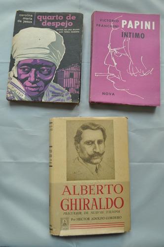 lote x 11 biografias memorias antiguas montaigne ghiraldo