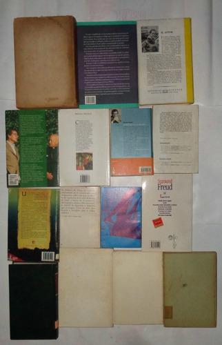 lote x 15 libros ensayos v/ autores generos longchamps z sur
