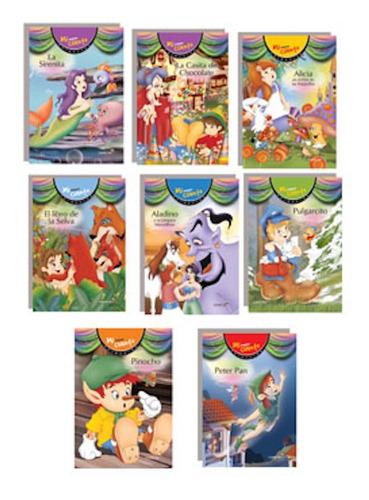 lote x 16 colección pequeño cuento betina imprenta mayuscula