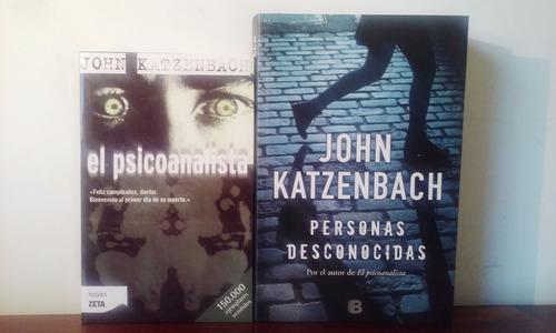 lote x 2 el psicoanalista + personas desconocidas katzenbach