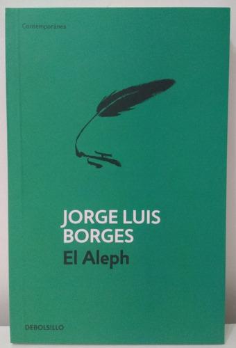 lote x 2 libros de jorge luis borges - el aleph + ficciones