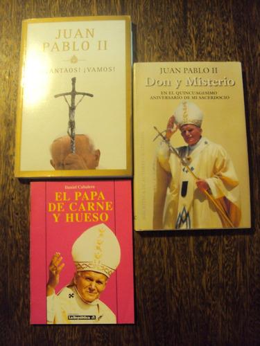 lote x3 juan pablo segundo biografia papa iglesia catolica