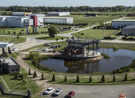 lote y galpon en parque industrial cañuelas