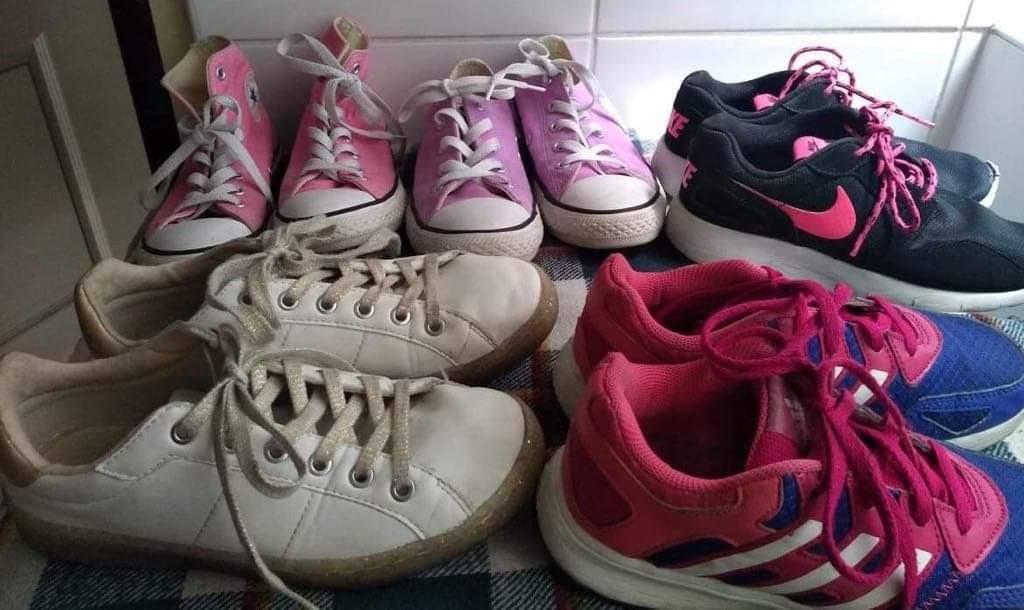 zapatillas nike adidas niña