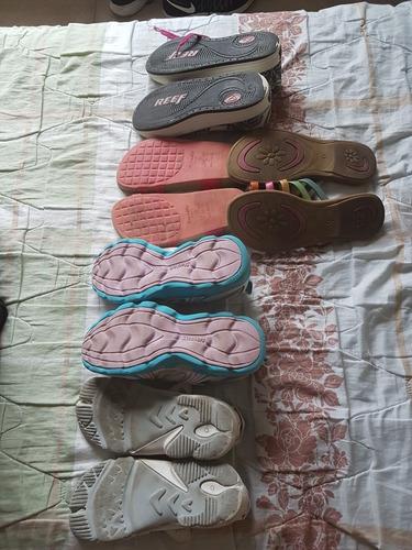 lote zapatillas y zandalias 30/31