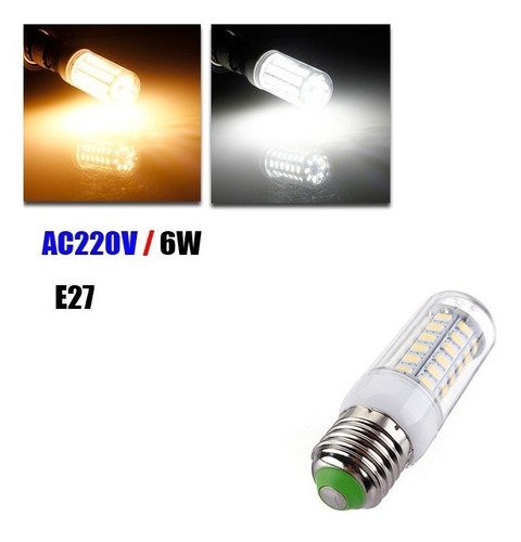 lote10 lâmpada led e27 36led 5730smd 220v pronta ent60rega!!