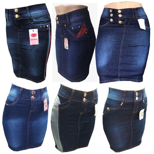 lote10 saia jeans evangelica varios modelos revenda promoção