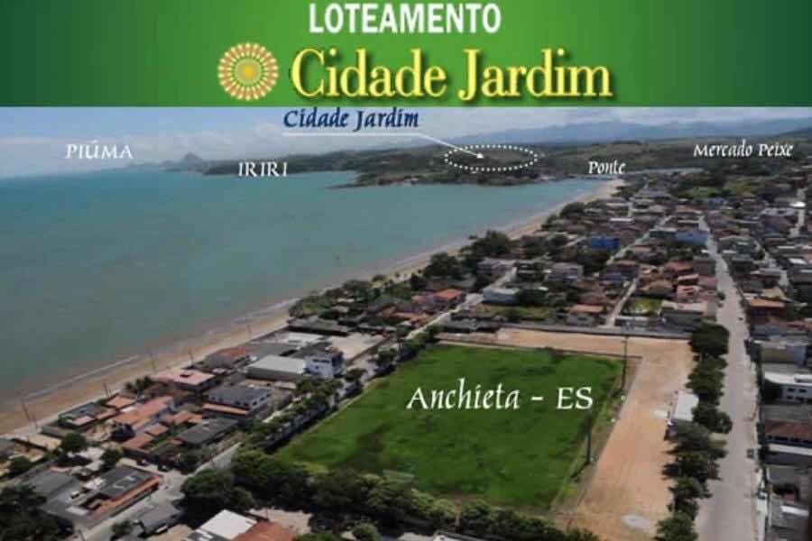 loteamento cidade jardim em anchieta-es bairro nova betania