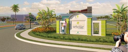 loteamento setville - terreno pronto para construir