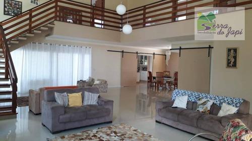loteamento vivendas do japi - chác. com 4 suítes venda, 1513 m² por r$ 1.599.000 - medeiros - jundiaí/sp - ch0130